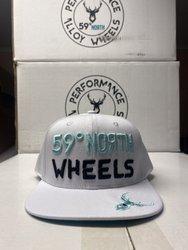 59 North Wheels - Snapback biały
