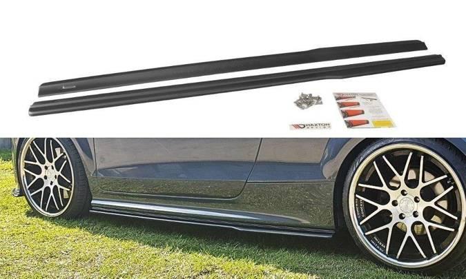 Dokładki progów Maxton Audi TT S / TT S-Line 8J (czarny połysk)