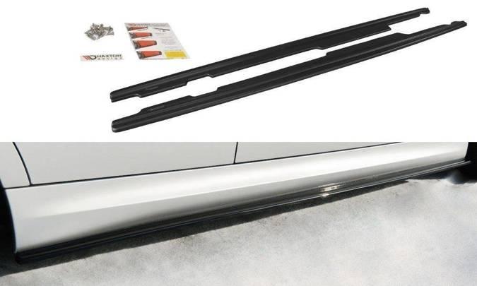 Dokładki progów Maxton BMW 3 E90/91 M-Pack (czarny mat)