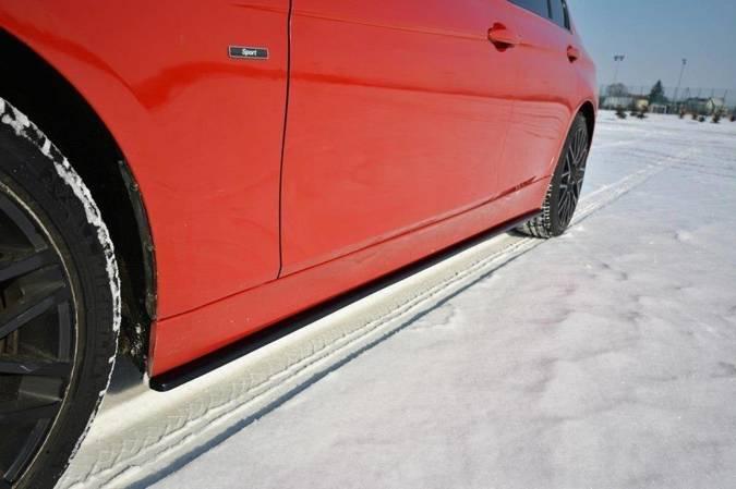 Dokładki progów Maxton BMW 3 F30 (carbon look)