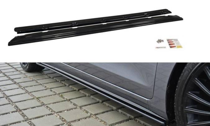Dokładki progów Maxton Hyundai i30 MK2 (czarny mat)