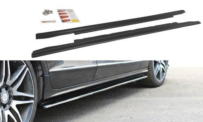 Dokładki progów Maxton Mercedes CLS C218 (czarny połysk)