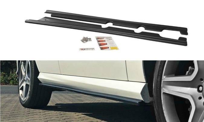 Dokładki progów Maxton Mercedes GLE W166 AMG-Line (carbon look)