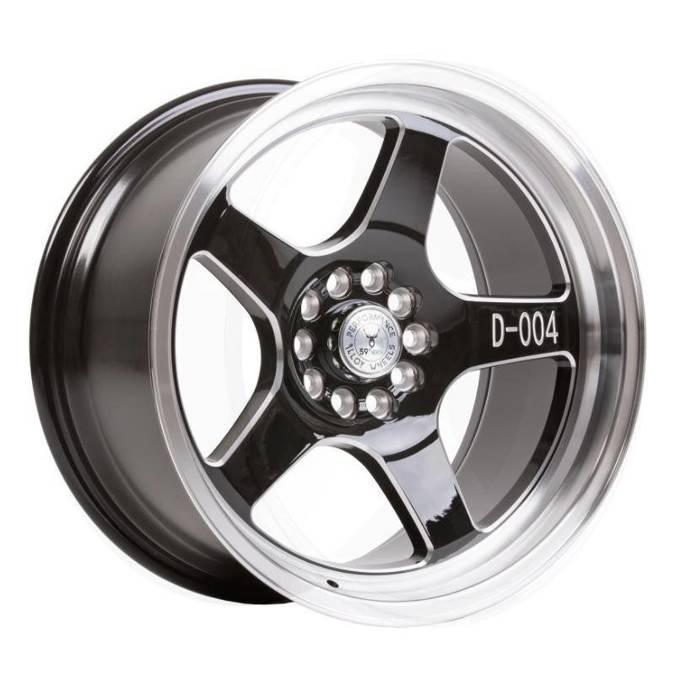 "Felgi aluminiowe 17"" 59 North Wheels D-004 17x8,5 ET10 5x100/108 Gloss black/polished"