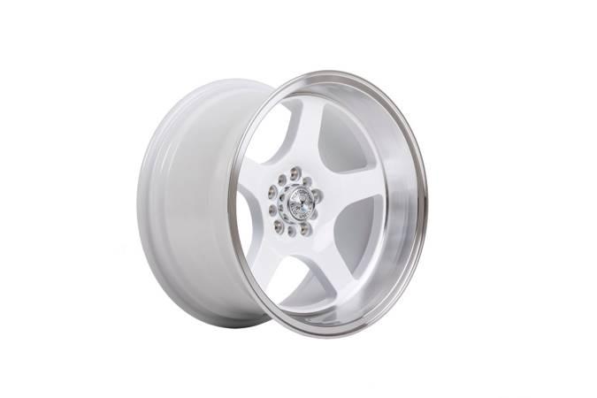 "Felgi aluminiowe 18"" 59 North Wheels D-004 18x9,5 ET20 5x114,3/120 White/polished"