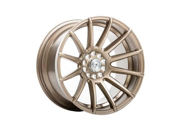 """Felgi aluminiowe 18"""" 59 North Wheels D-005 18x9,5 ET20 5x108/112 Matte Bronze"""