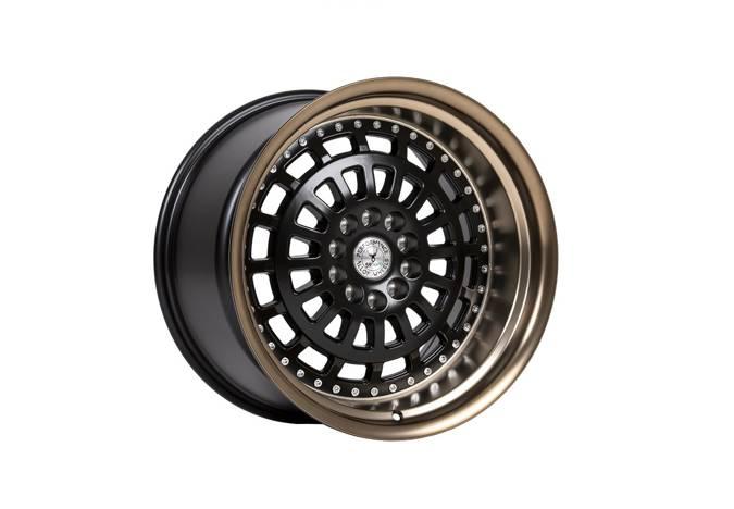 "Felgi aluminiowe 18"" 59 North Wheels D-007 18x11 ET15 5x114,3/120 Matteblack/mattebronze lip"