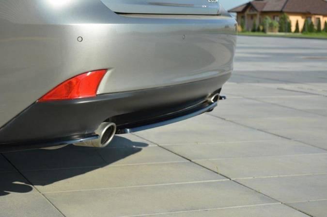 Splitter tylny srodkowy Maxton Lexus IS MK3 T (bez dyfuzora) (carbon look)