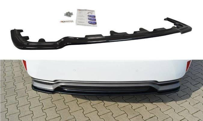 Splitter tylny srodkowy Maxton Lexus RX MK4 H (bez dyfuzora) (czarny mat)
