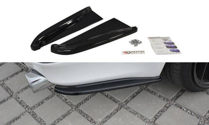 Splittery tylne boczne Maxton Lexus IS MK2 (czarny mat)